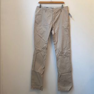 NWT $198 MENS ACNE SOLID CREAM PANTS SIZE 31